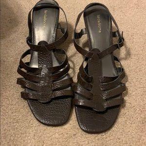 Liz Claiborne brown heels